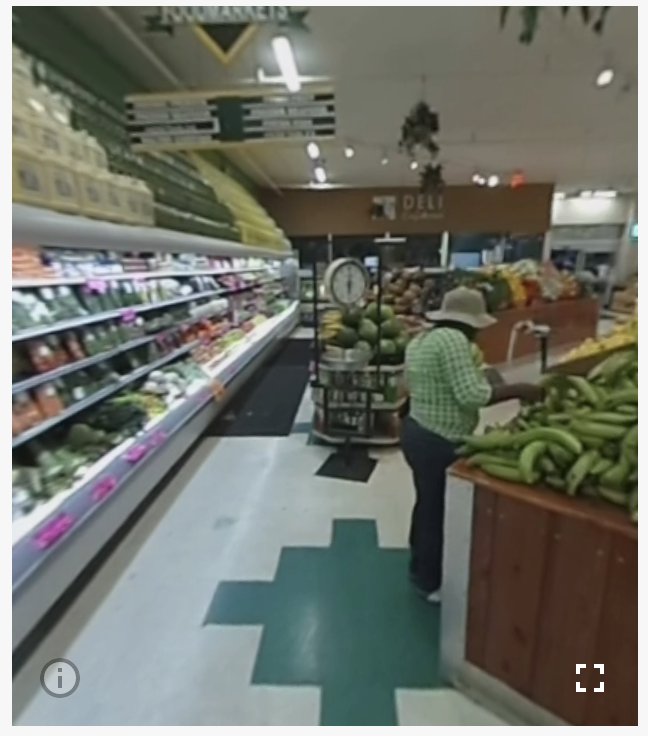 Produce Dept. - VR View